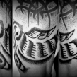 """haida salmon tattoo"" ""dotwork"""