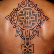 """koptic cross tattoo"""
