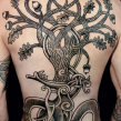 """yggdrasil tattoo"" ""back piece tattoo"" ""nordic tattoo"""